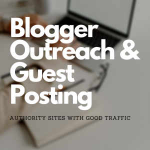 Outreach / Guest posting